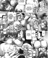 9 pictures of Stockinged manga slave getting tied up and pussy punished