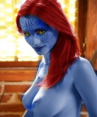 5 pictures of Super heroes from famous movies are fucking hard and posing nude