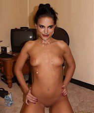 5 pictures of Famous movie star Natalie Portman in hardcore orgies fantasy