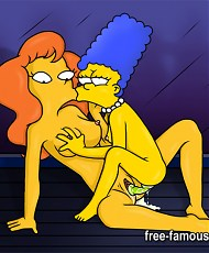 5 pictures of Marge and Homer Simpsons are fucking hard to all holes